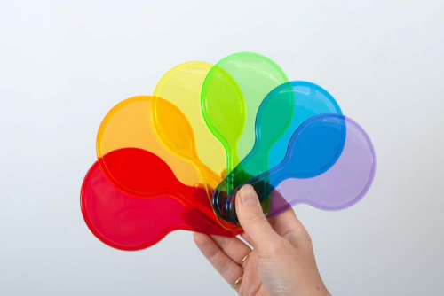 Translucent Colour Paddles 6pk